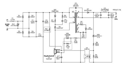 核心ic内部集成电路原理图