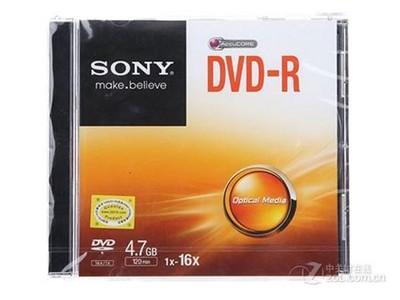 索尼 DVD-R 16速 4.7G(单片盒装)