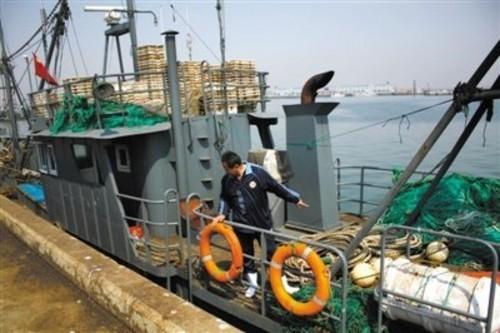 朝劫匪劫持中国渔船 北斗记录并未越界
