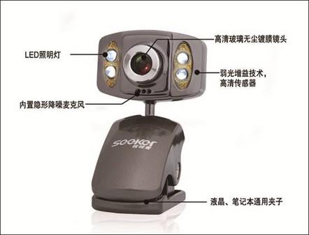 高清娱乐!视视看侠客M330摄像头详解!