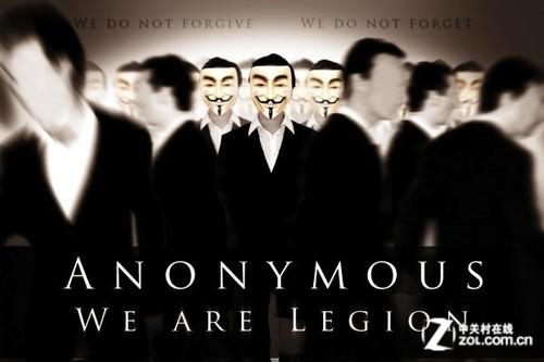 黑客组织anonymous