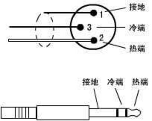耳机 根线接线图
