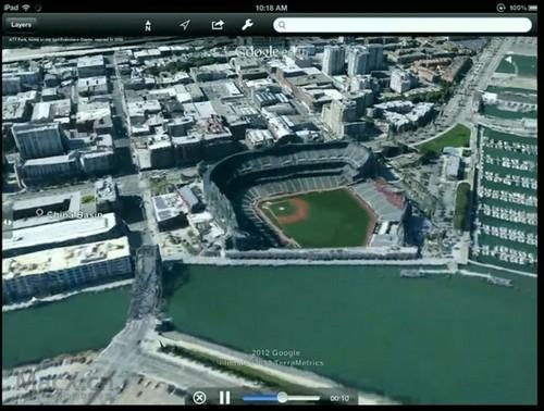 谷歌正式发布新版地图服务 3d功能升级
