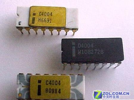 4004 微处理器