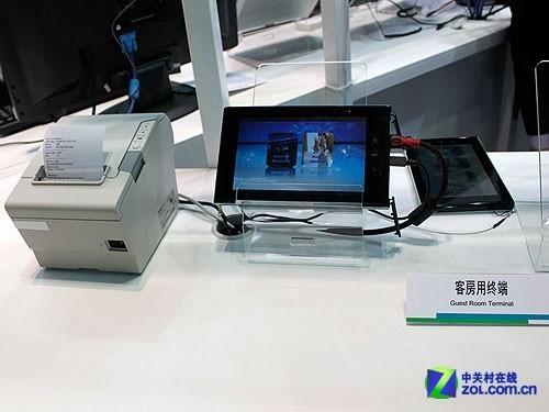 军标三防强机NEC亮相上海亚洲移动通信展