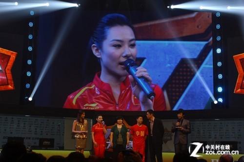 TGA大奖赛专访:奥运冠军刘璇 李小鹏专访