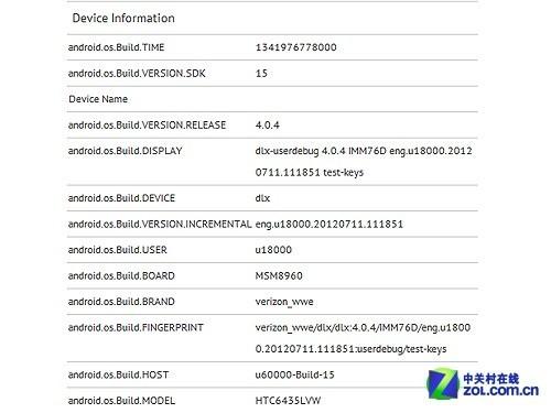 HTC新款四核强机泄露 1080P分辨率显示屏