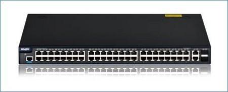 光电上联安全接入锐捷网络百兆交换机RG-S2600G-S系列