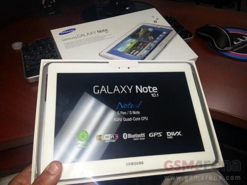 美零售商提前入手美版GALAXY note 10.1