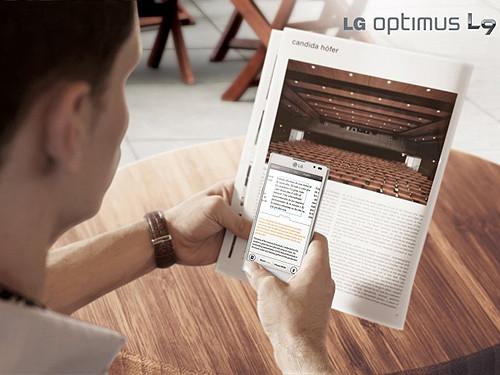 重视体验 LG Optimus L9新键盘与语言翻译