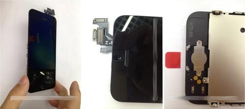 iphone 5前面板组件曝光 集成nfc芯片