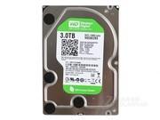 西部数据 3TB 7200转 64MB SATA3 绿盘(WD30EZRX)