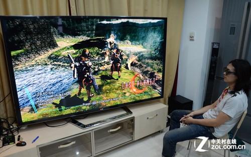 GTX690都没戏? 4K分辨率巨屏TV实战玩测