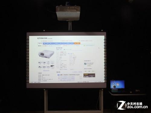 互动教学利器 松下XW25SR投影机评测