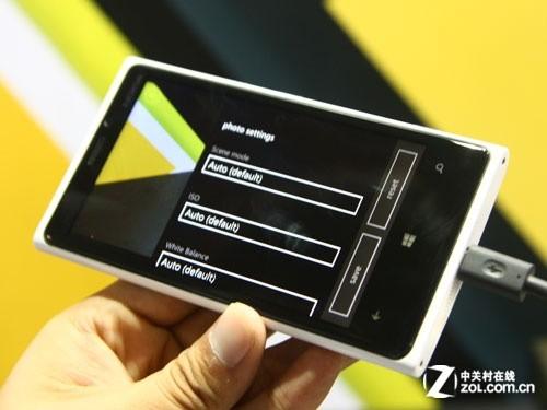 诺基亚920拍摄功能界面-WP8让操作更个性 诺基亚920 820系统试玩