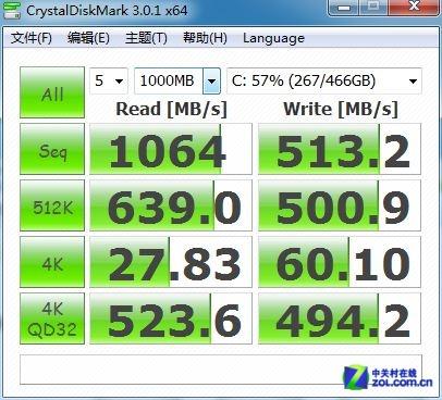 RADI0新玩法 三星840系SSD狂飙千兆/秒