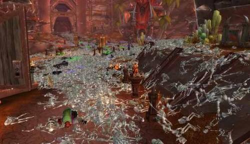 《魔兽世界》美国服务器被黑 满城尸体