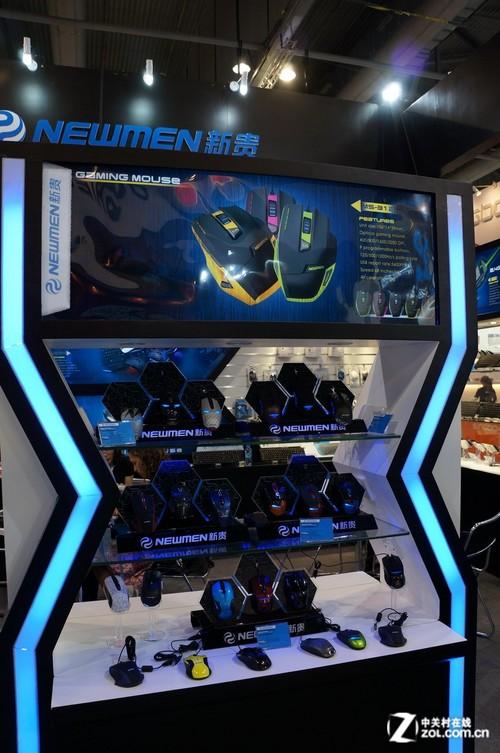 2012香港电子展:新贵众多游戏产品亮相