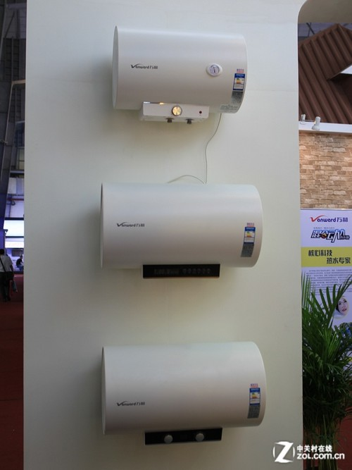 2012顺德家电展万和展台电热水器产品展示