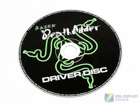 razer炼狱蝰蛇鼠标驱动光盘高清图片