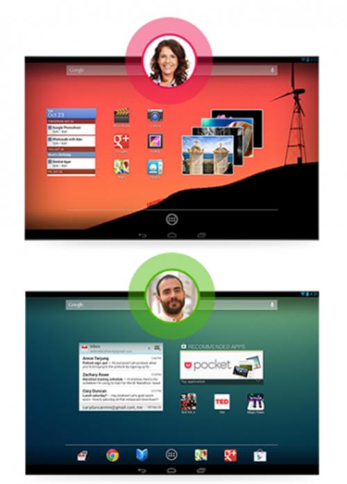 专利门槛 Android 4.2用户切换仅限平板