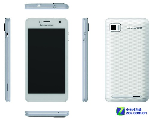 售价2499 白色联想乐Phone K860线下开售