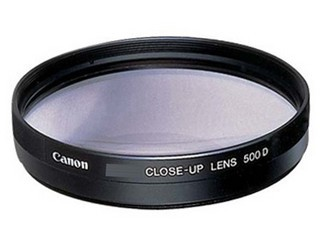 佳能52mm近摄镜片 500D