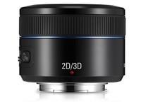 三星NX 45mm f/1.8 2D/3D镜头北京2100