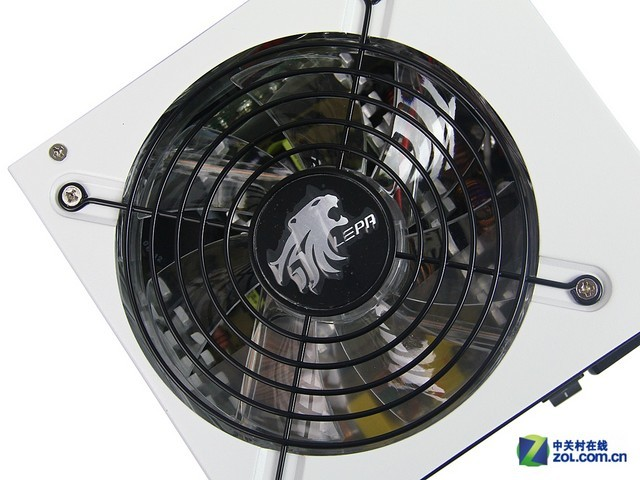 黑白配色86%高效率 利豹MX550电源图赏