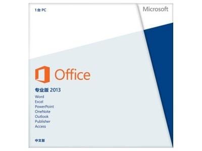 Microsoft  office专业版2013