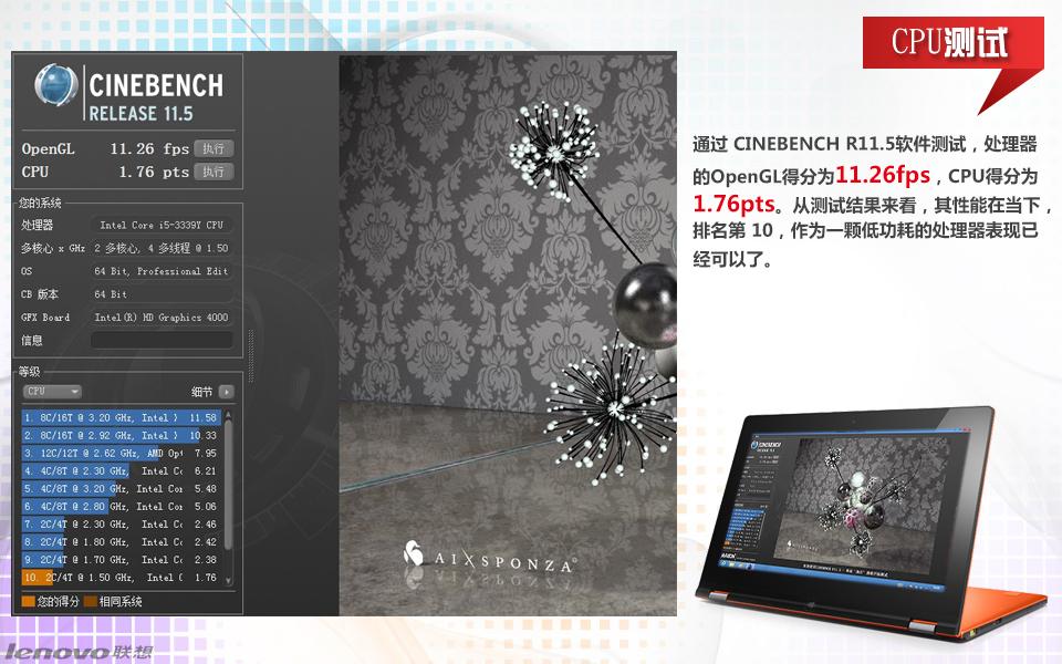 联想Yoga11S-IFI(2GB/128GB)皓月银图片28
