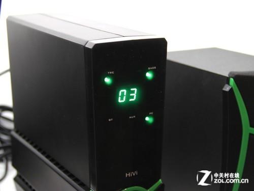 带独立功放单元 HiVi惠威2.1音箱680元