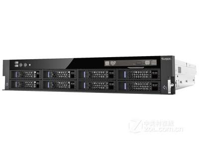 曙光 I420-G10 12盘位((Xeon E5-2407*1/1*8GB/9*300GB/SAS卡)