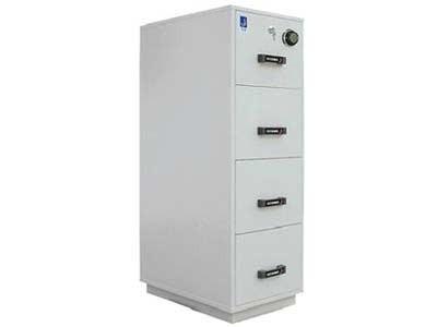 泰格防火柜  FRD-40 一小时防火防磁文件柜/保险柜 FRD40  4个纸张抽屉