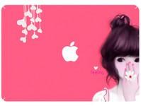 尚雅苹果AIR 13.3 免裁剪笔记本炫彩贴/炫彩膜