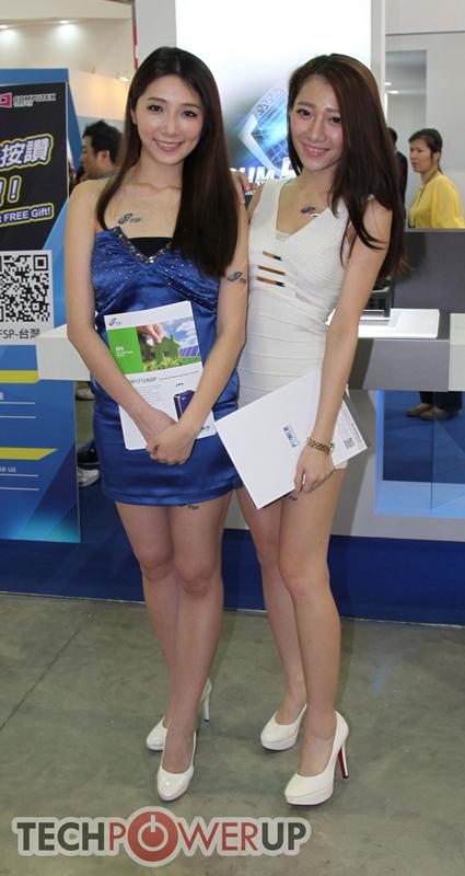 台北电脑展又一大波妹子来袭 130张ShowGirl美图一网打尽的照片 - 48