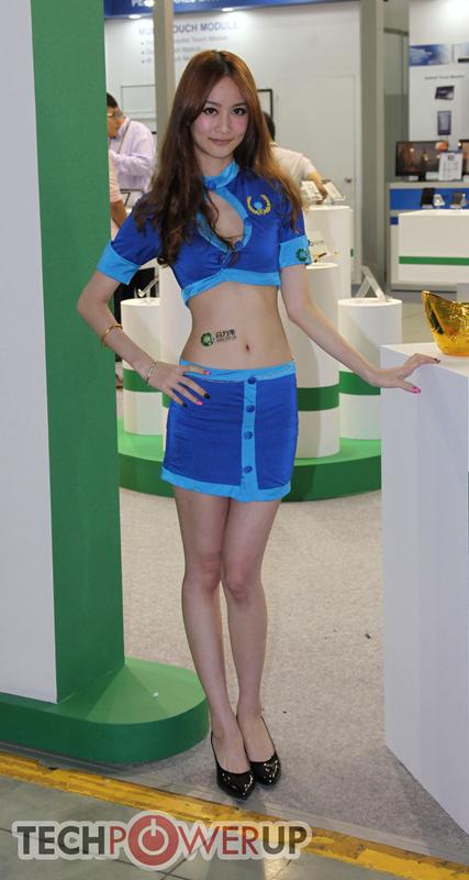台北电脑展又一大波妹子来袭 130张ShowGirl美图一网打尽的照片 - 54