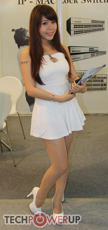 台北电脑展又一大波妹子来袭 130张ShowGirl美图一网打尽的照片 - 72