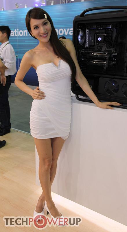 台北电脑展又一大波妹子来袭 130张ShowGirl美图一网打尽的照片 - 123