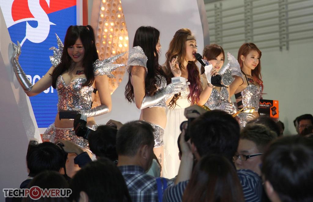 台北电脑展又一大波妹子来袭 130张ShowGirl美图一网打尽的照片 - 27