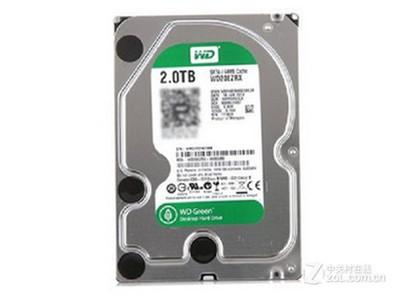 WD 2TB 5400转 64MB SATA3 绿盘(WD20EZRX)
