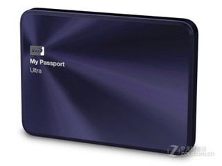 西部数据My Passport Ultra 金属版 2TB(WDBEZW0020BBA)