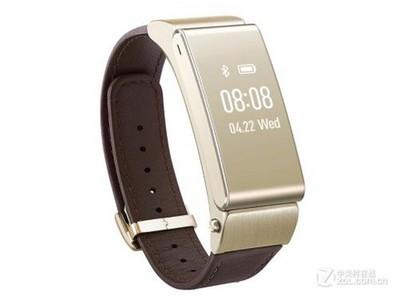 华为 手环 B2(商务版)华为(HUAWEI)华为手环B2 (蓝牙耳机与智能手环*结合+金属机身+触控屏幕+*表带) 商务版