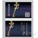 业王卡片式u盘-公司定制图案4G