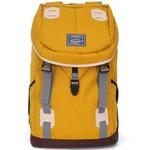 Promax新款旅行双肩包大容量户外休闲背包女男士学院风多功能书包MD1038B-30 黄色