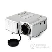 优丽可(UNIC)UC28家用LED投影仪 迷你便携微型投影仪可U盘电脑手机投影 白色 套餐一