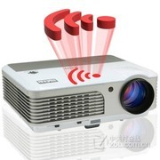 EUG X760+投影仪家用高清 LED无线wifi投影机KTV/家庭影院 经典标配版