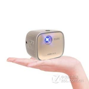 韩国酷迪斯(codis)无线迷你投影仪 家用高清微型投影机CB-101 土豪金 官方标配