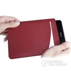 莺宝亚马逊Kindle全系列 Voyage保护套内胆包保护壳插袋皮包防震A级 酒红色  第七代 Voyage 1499款