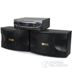 申士AK-370+C-188 音响套装 DSP数字卡拉OK音箱升级版